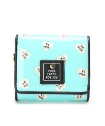 PINK-latte/ラメハートフラップ財布/501539616