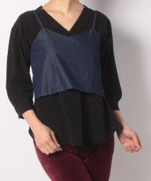 JOURNAL STANDARD/Silk Cotton Denim Cami Female/501490679