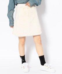 LHP/chica/チカ/ファー切り替えスカート/501541090