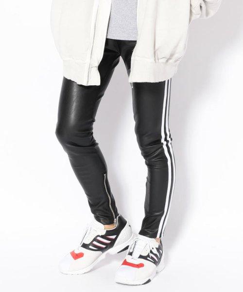 LHP(エルエイチピー)/DankeSchon/ダンケシェーン/Neo Leather LINE Pants/6016199045-60