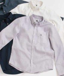 a.v.v (MEN)/サンライトキモウボタンダウンシャツ[WEB限定サイズ]/501469292