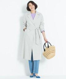JIYU-KU /【VERY3月号掲載】DOUBLE FACE LINEN コート(検索番号W24/501541525