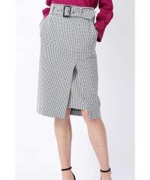 Pinky&Dianne/◆ギンガムストレッチラップレイヤードスカート/501527165