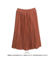 GROWINGRICH/[ボトムススカート]上品×上品=可愛くなる千鳥格子柄プリーツスカート[181239]/501542087