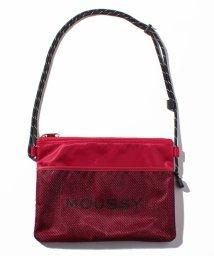 MOUSSY(BAG)/【MOUSSY】 LOGO NYLON SHOULDER/501520651