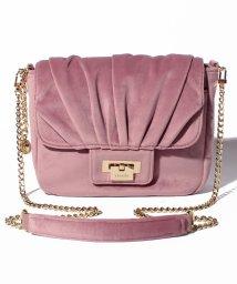 rienda(BAG)/【rienda】 VELVET SHOULDER/501520659