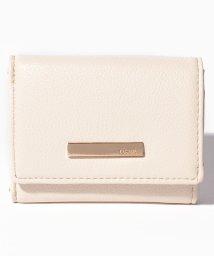 rienda(BAG)/【rienda】 BASIC 5 THREE FOLD ZIP WALLET/501520665