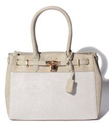rienda(BAG)/【rienda】 FAKE SUEDE BELT TOTE M/501520667