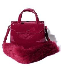 SLY(BAG)/【SLY】 ENAMEL & FUR MINI SHOULDER/501520671