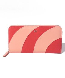 SLY(BAG)/【SLY】 PATCHWORK ROUND ZIPPED WALLET/501520683