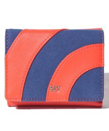 SLY(BAG)/【SLY】PATCHWORK TRIFOLD WALLET/501520684