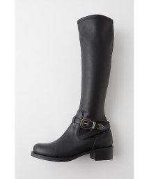 moussy/WESTERN BUCKLE LONG BOOTS/501542801