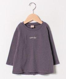 petit main/ちびロゴTシャツ/501534921