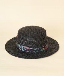 31 Sons de mode/柄リボンカンカン帽/501543996