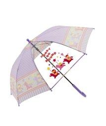 BACKYARD/amusant sous la pluie 50cm キッズ 1コマPOE 長傘 /501544407