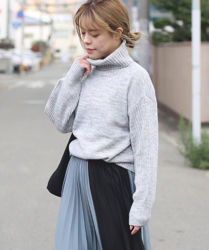 【WEB限定】イタリー糸使用◆ニットプルオーバー