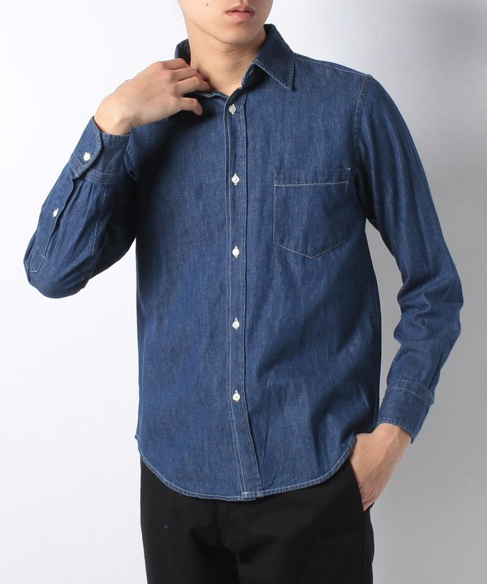 DENIM REG SH