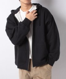 JOURNAL STANDARD MEN/SWEAT W/FACE ZIP PARKA/501533681