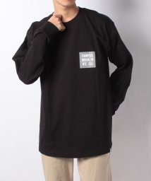 JOURNAL STANDARD MEN/THUMPERS NYC for JS 2Tone Logo L/S Tee/501533691