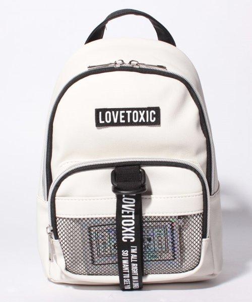 Lovetoxic(ラブトキシック)/パス付ミニリュック/8384405