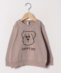 LAGOM/犬プリントトレーナー/501536810