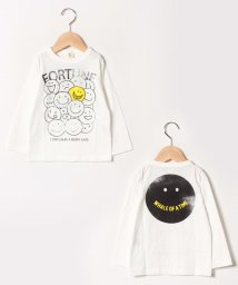 JEANS‐b2nd/SMILE ロングTシャツ/501534890