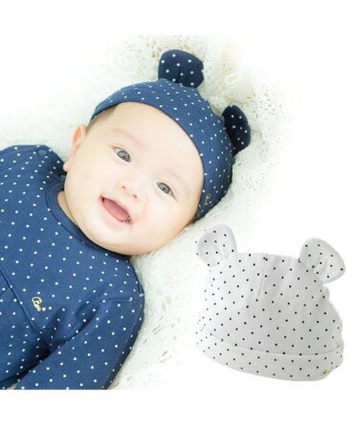 chuckleBABY(チャックルベビー)/ボンシュシュ新生児帽子/P9885