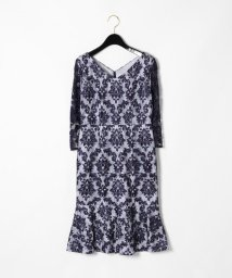 GRACE CONTINENTAL/刺繍マーメイドワンピース/501547574