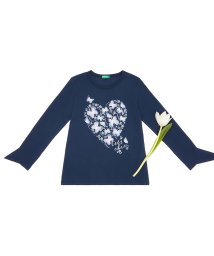 BENETTON (UNITED COLORS OF BENETTON GIRLS)/フラワープリント長袖Tシャツ・カットソー/501536445