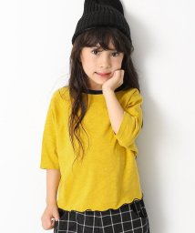 devirock/ワイドショート丈スラブTシャツ/501548416
