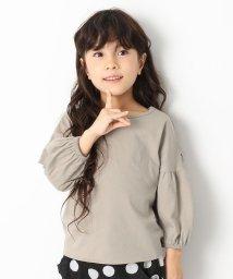 devirock/袖バルーン9分袖Tシャツ/501548418