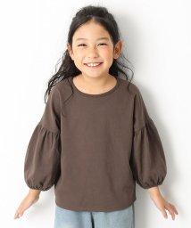 devirock/袖バルーン9分袖Tシャツ 女の子/501548418