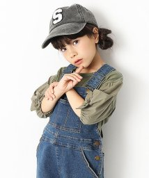devirock/袖口リボン7分袖Tシャツ 女の子/501548419