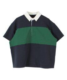 titivate/ワイドボーダーラガーシャツ/501548477