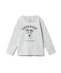 gelato pique Kids&Baby/【KIDS】アニマルアイマスクワンポイントkidsTシャツ/501548982