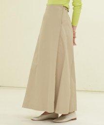 GALERIE VIE/コットンチノ フレアロングスカート/501549277