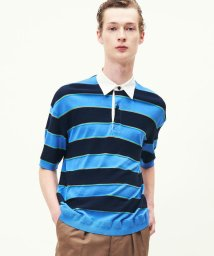 TOMORROWLAND MENS/コットン レトロボーダー ラグビーシャツ/501549278