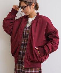 and Me.../中綿入り オーバーサイズ MA-1 ミリタリー ジャケット ブルゾン アウター/501549283