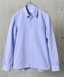 SHIPS JET BLUE/SHIPS JET BLUE: COOLMAX ドビードット レギュラーカラーシャツ/501549481