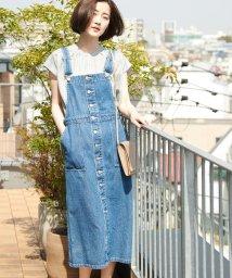 ROPE' PICNIC/【WEB限定】デニムジャンパースカート/501549961