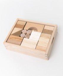 URBAN RESEARCH DOORS/オークヴィレッジ 寄木の積木(木箱入り)/501550050