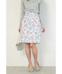PROPORTION BODY DRESSING/ドローイングフラワータイトスカート/501548255