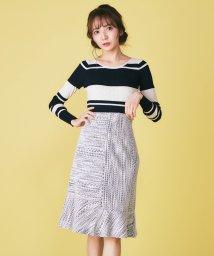 MIIA/ツィード風マーメイドスカート/501549496