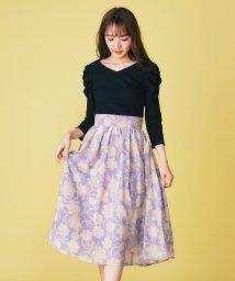 MIIA/オリジナル単色フラワースカート/501549515