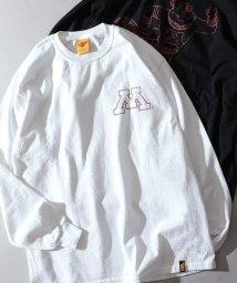 JOURNAL STANDARD relume Men's/《予約》MINNESOTA UNIV.×relume / 別注ミネソタ大学 プリントロングTシャツ/501550910