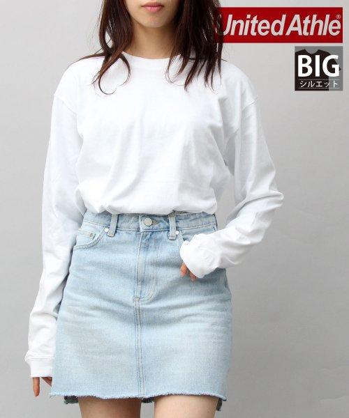 AMS SELECT(エーエムエスセレクト)/【UnitedAthle】5.6オンスロングレングスTシャツ/袖リブ/ロンT/CAB-A012