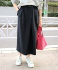 SLOBE IENA/ベルト付きアシメタックタイトスカート◆/501551922
