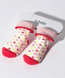e-baby/マルチドットカップソックス/501228388