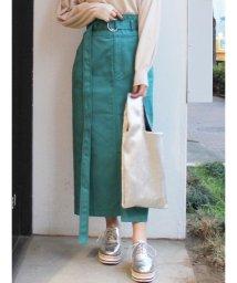 MERCURYDUO/Dickies別注 ハイウエストタックタイトスカート/501465397