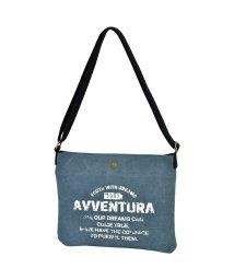 RUNNER/AVVENTURA ヴィンテージロゴ キャンバス ショルダートートバッグ サコッシュ/501532867